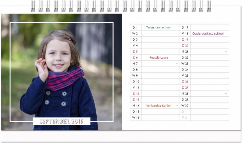 bureaukalender seizoen
