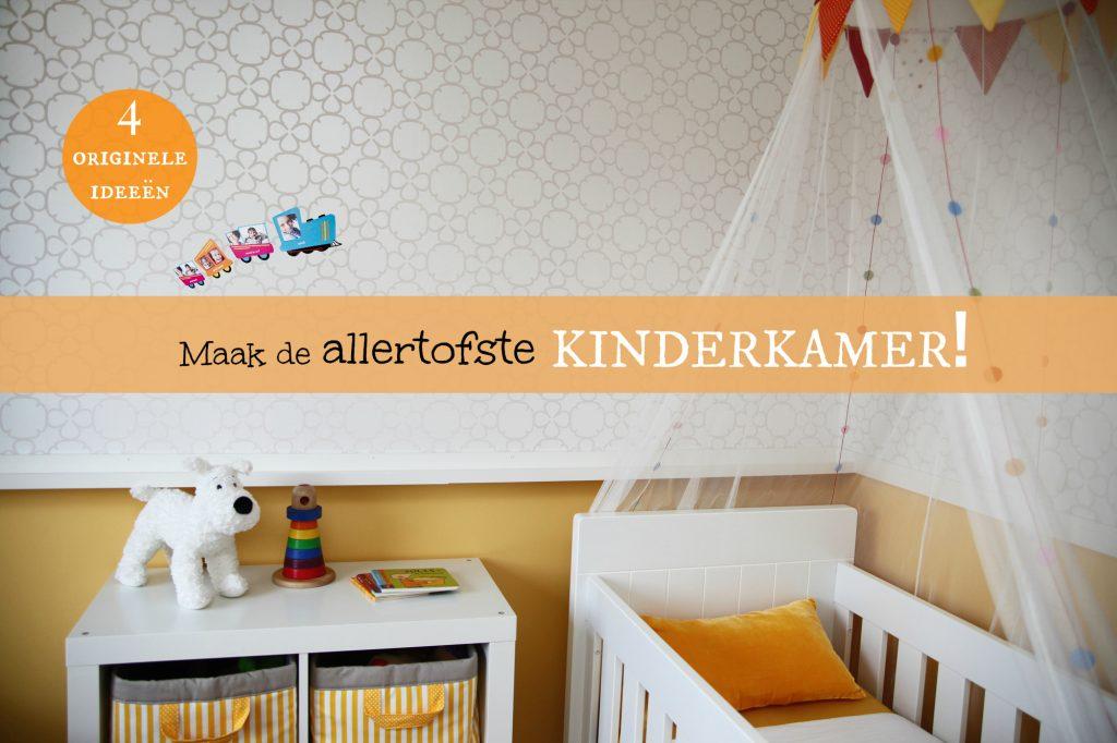 Wanddecoratie kinderkamer leuke en originele ideeën