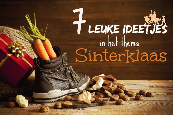 Kleurplaten Thema Sinterklaas.Knutselen Rond Sinterklaas Leuke Ideetjes In Het Thema Sint