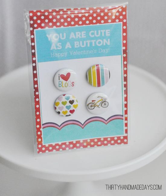 button - valentijn voor haar