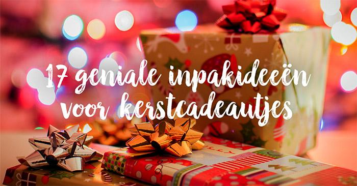 Kerstcadeautjes Inpakken Zo Doe Je Het Origineel
