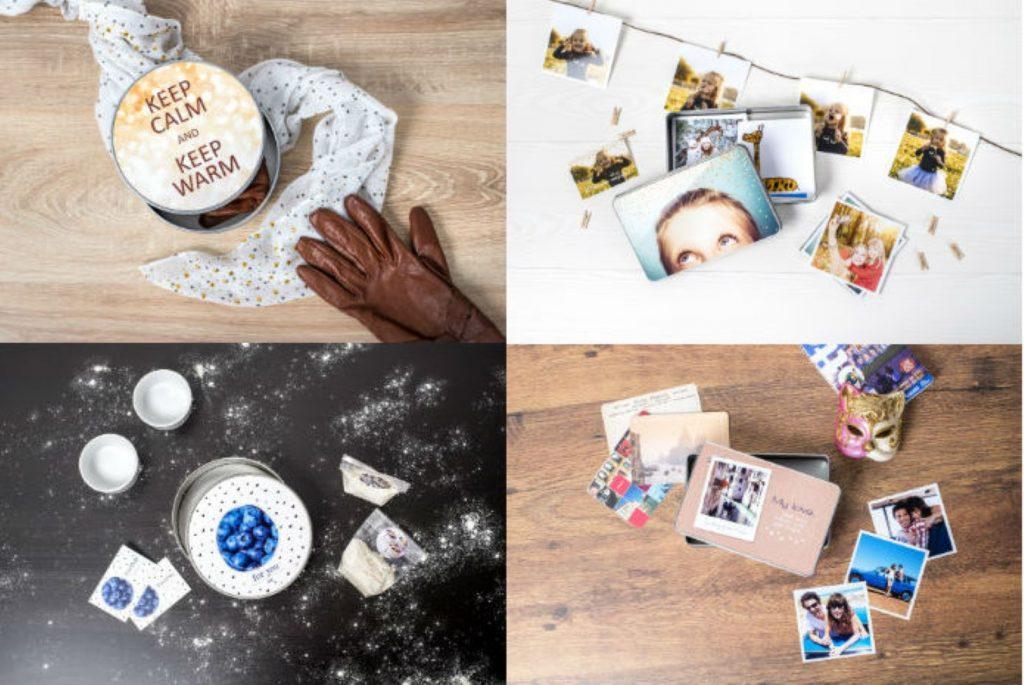 valentijnscadeau koekjesdoos met foto