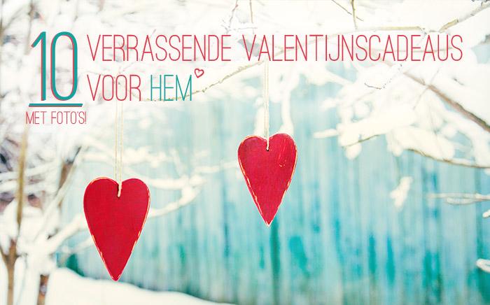 10 verrassende valentijnscadeaus voor hem