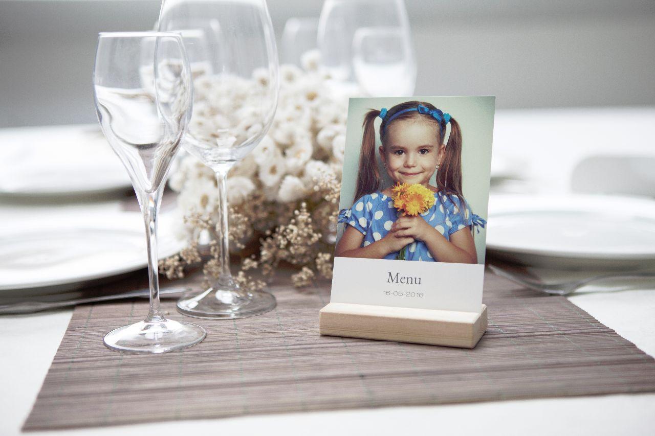 versiering tafel communie