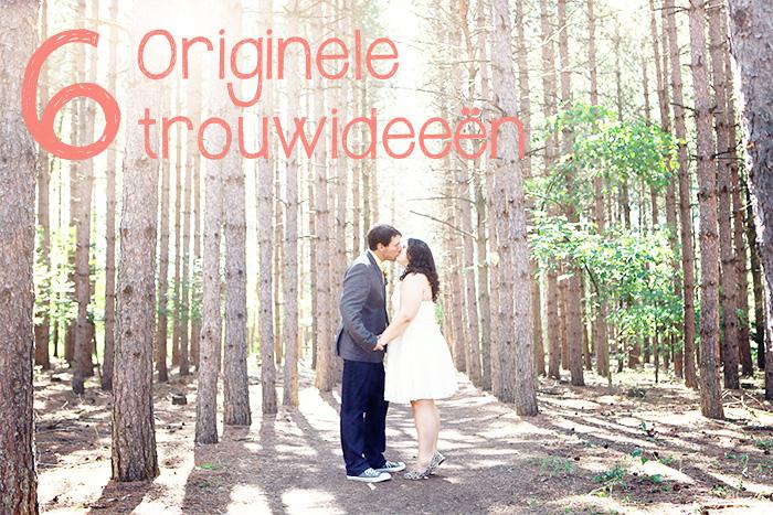originele trouwideeën
