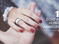 12 écht creatieve huwelijksaankondigingen