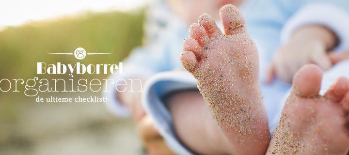 Babyborrel organiseren: de ultieme checklist