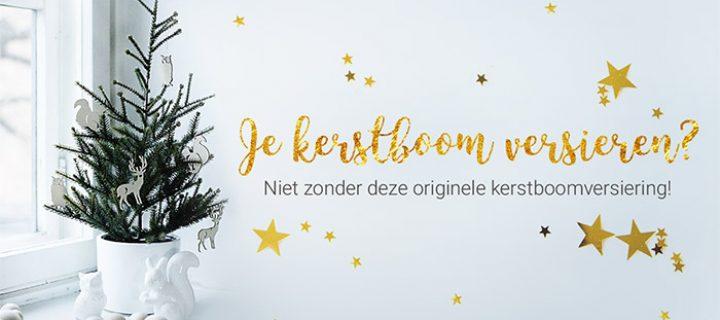 Je kerstboom versieren? Niet zonder deze originele kerstboomversiering!