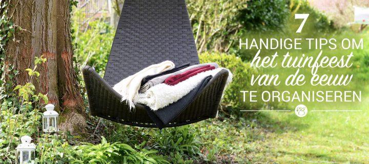 7 handige tips om het tuinfeest van de eeuw te organiseren