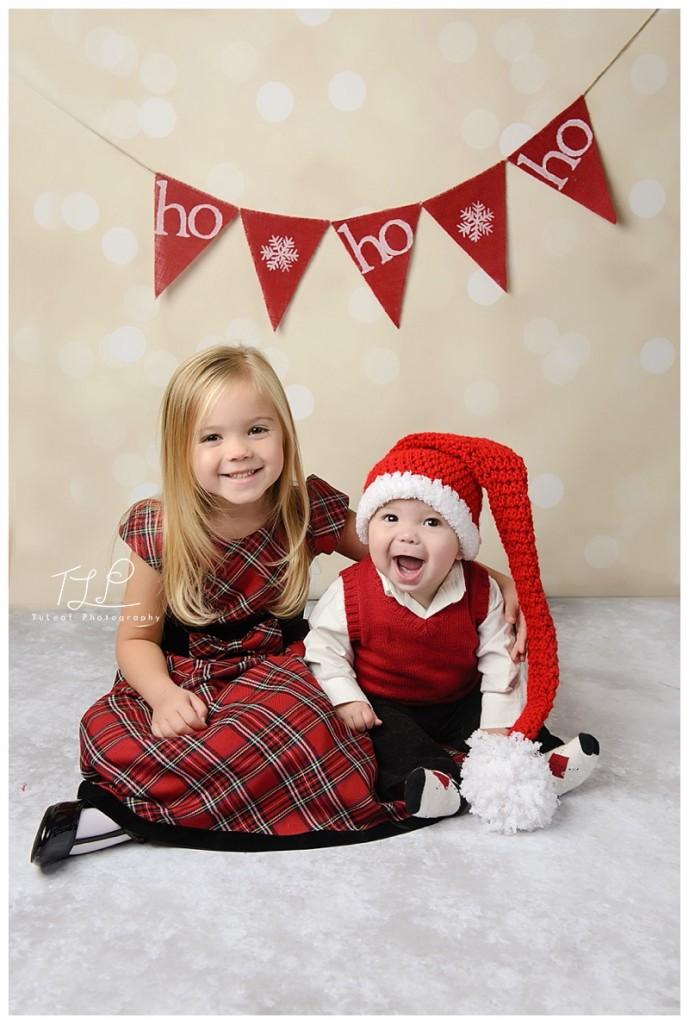 kerstkaartjes broer en zus