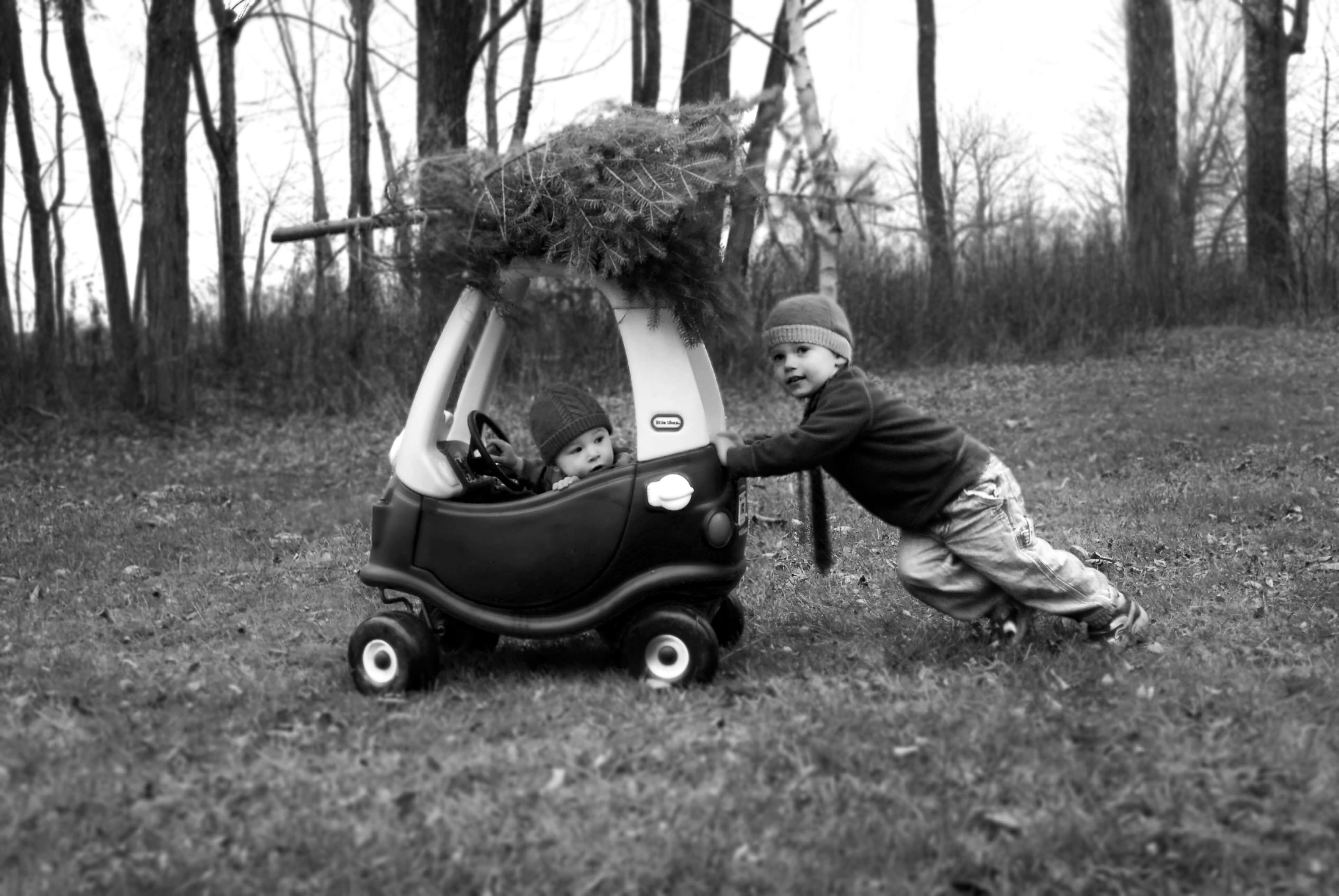 kerstfoto - idee 4
