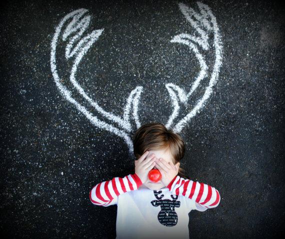 kerstfoto - idee 7