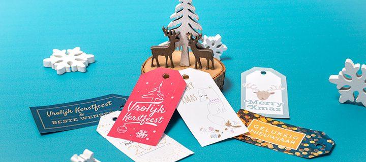 Met deze cadeaulabels voor kerst maak je jouw kerstcadeau helemaal af!