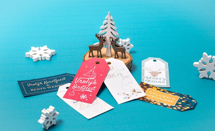 cadeaukaartjes voor Kerstmis