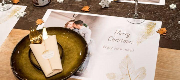 OH HO HO HO! Deze leuke tafelversiering voor kerst al gezien?