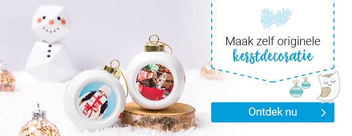 maak zelf originele kerstdecoratie