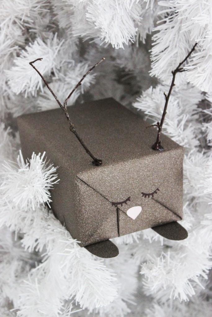 kerstcadeautjes-inpakken-rendier