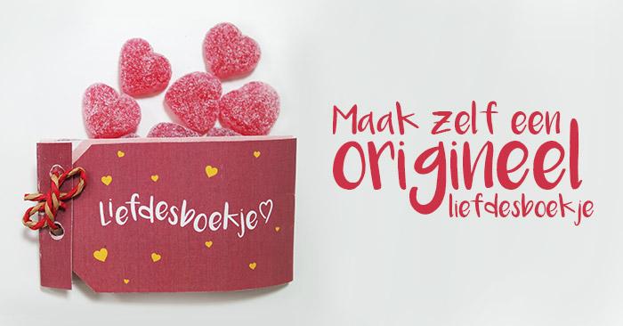 liefdesboekje diy valentijn