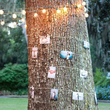 Wishing tree by The Every Last Detail http://theeverylastdetail.com/intimate-vintage-boho-wedding