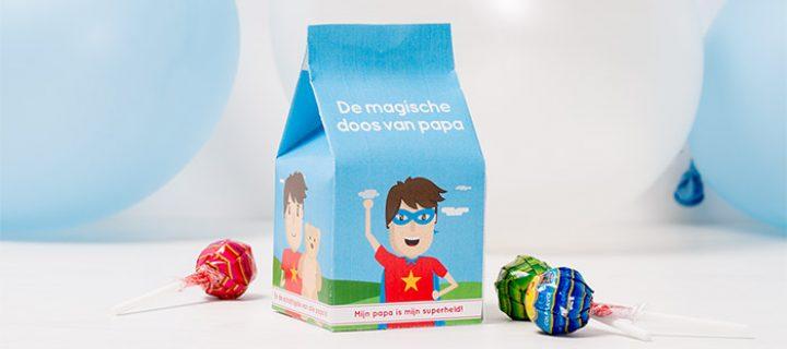 Knutselen voor Vaderdag – De magische doos van papa