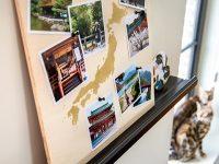 Wanddecoratie voor wereldreizigers en backpackers om bij weg te dromen