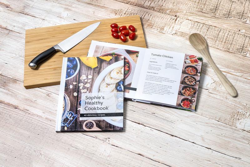 fotoboek tips receptenboek