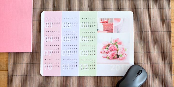 muistmat met kalender