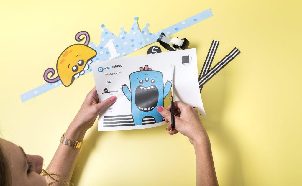 Kinderanimatie verjaardagsfeest - Diy masker voor kinderen