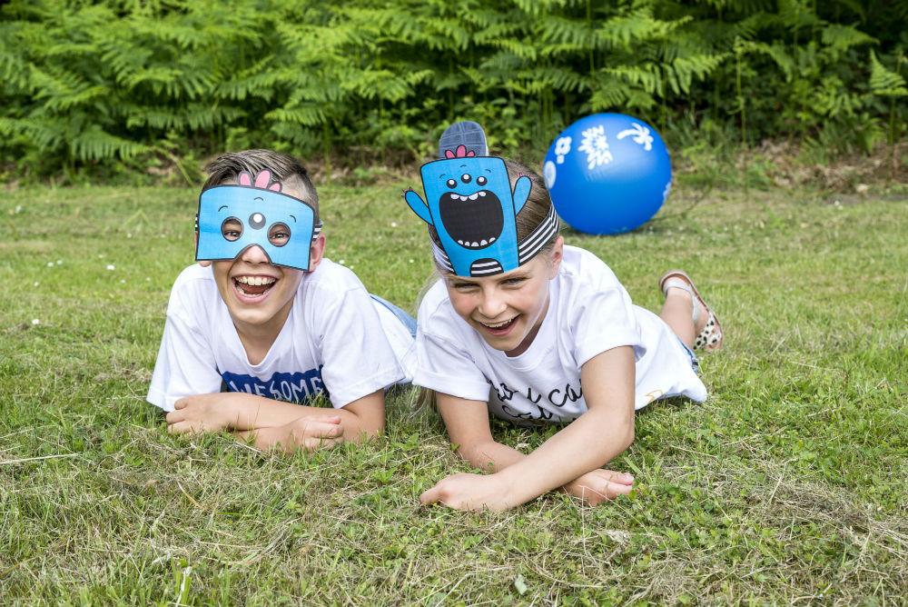 Kinderanimatie verjaardagsfeest - Kindermaskers om zelf te maken