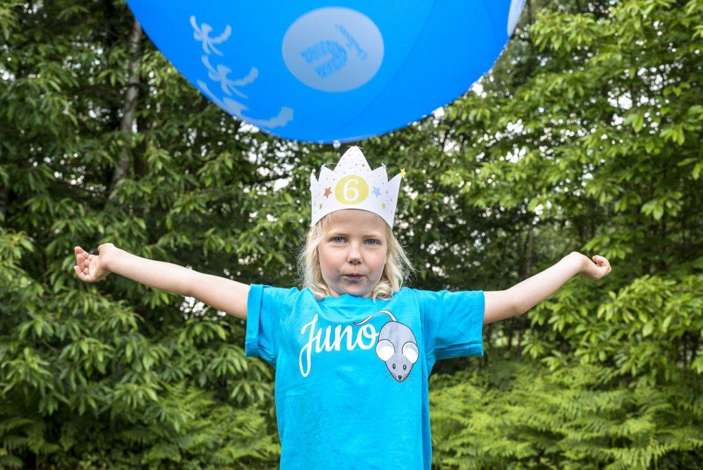 Kinderanimatie verjaardagsfeest - Verjaardagskroon diy