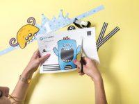 Kinderanimatie verjaardagsfeest: maskers DIY voor kinderen