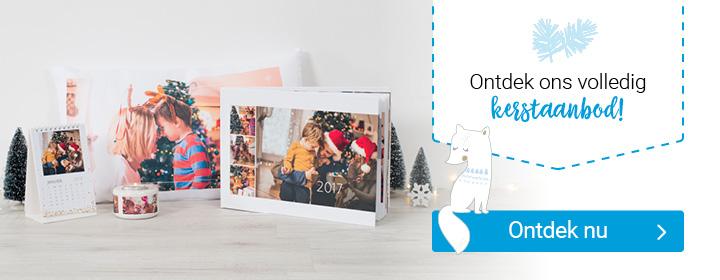 Ontdek het volledige kerstaanbod van smartphoto