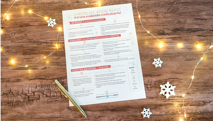 Kerstmis checklist