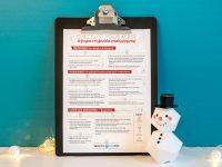 Checklist voor Kerstmis: de feesten voorbereiden zonder stressmis