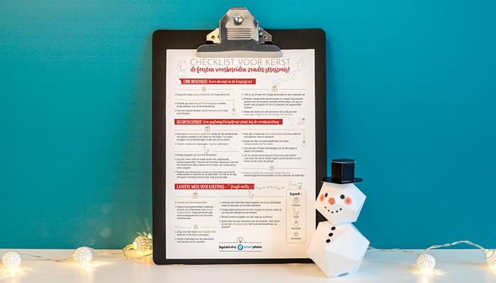 kerst voorbereiden checklist