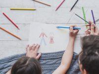 7 originele manieren om de tekeningen van de kinderen te bewaren