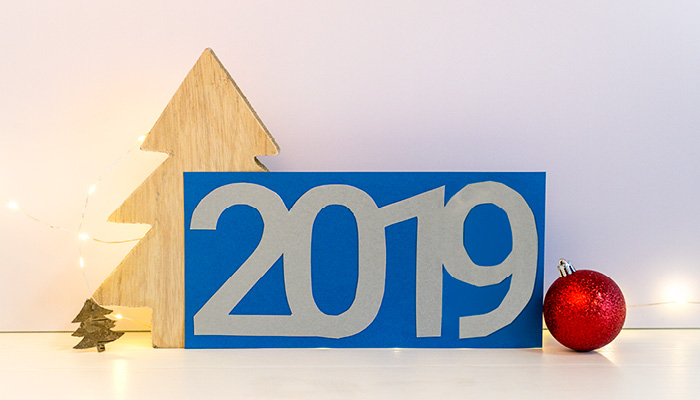 kerstkaarten knutselen 2019