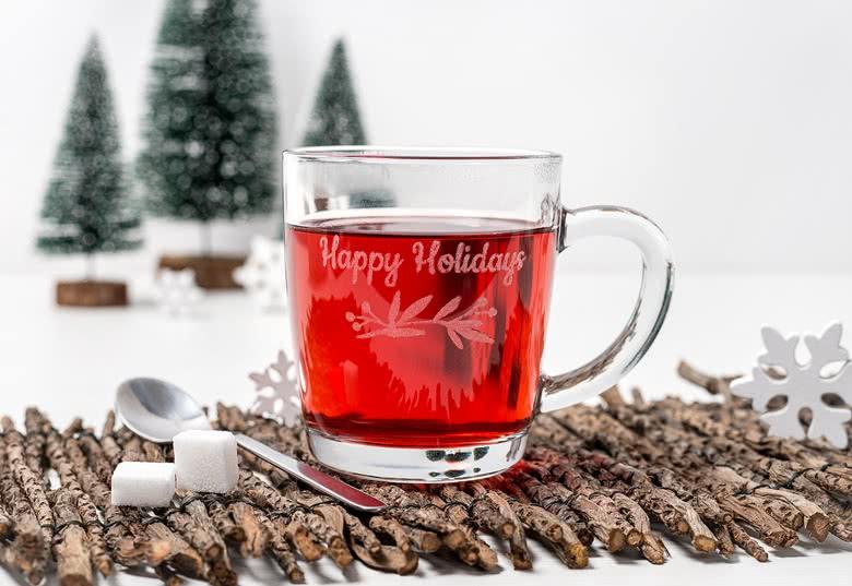 Goedkope cadeaus voor kerst - Theeglas