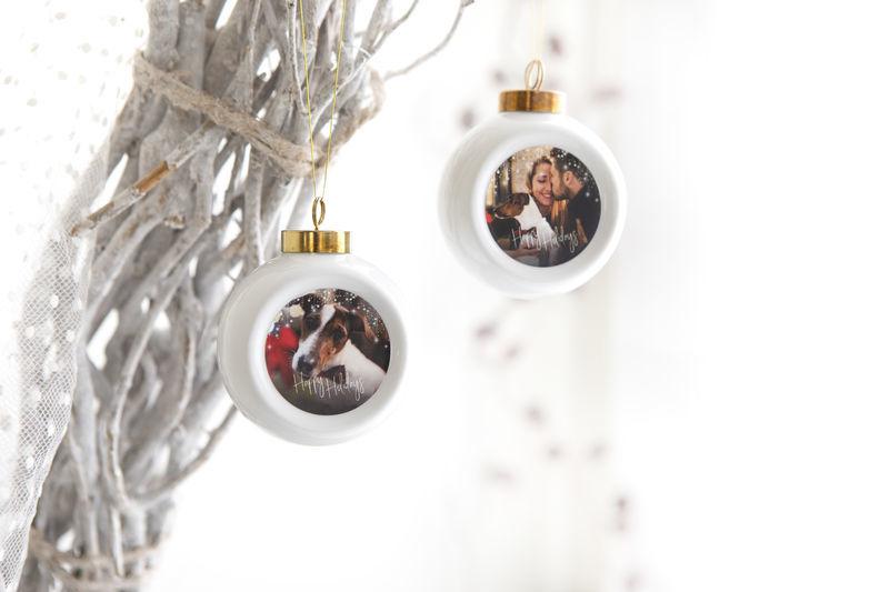 Versier je huis met smartphoto. Stap 1: kerstballen