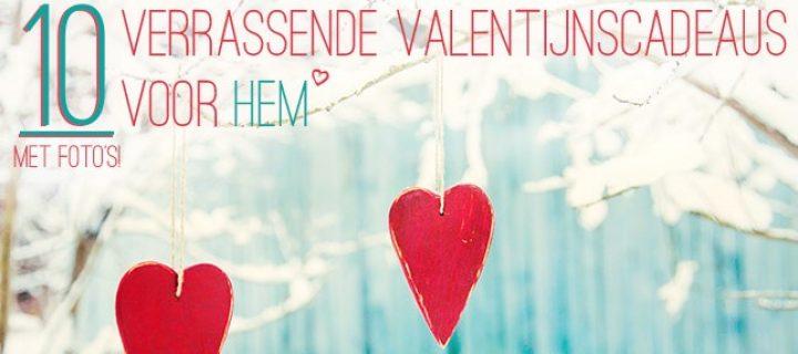 10 verrassende valentijnscadeaus voor hem!