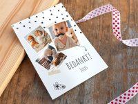 Maak zelf prachtige bedankkaartjes voor de geboorte van je kindje