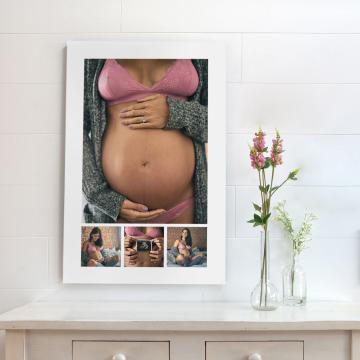 4 tips om je zwangerschapsfoto's te bewaren