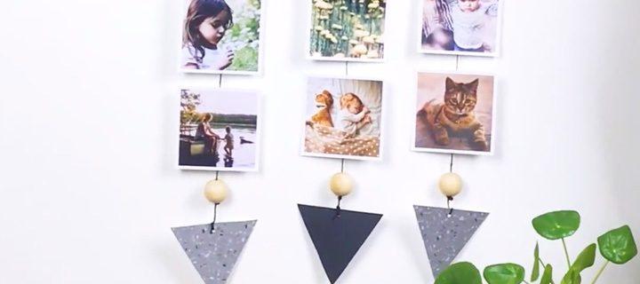 DIY : Zo maak je je eigen fotohanger!