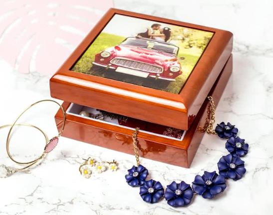 Juwelendoos met foto