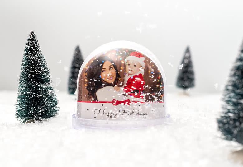 #6 Last minute kerstcadeau: Sneeuwbol