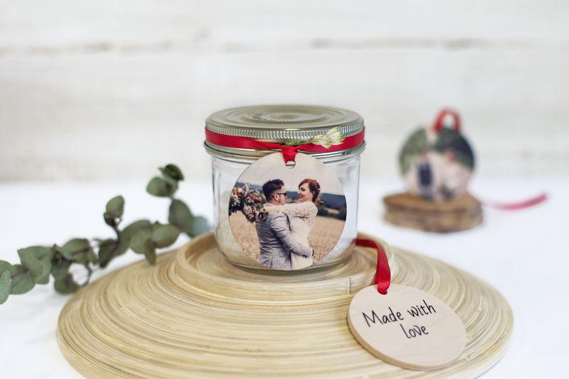 Valentijnsdag ideeën – houten hanger