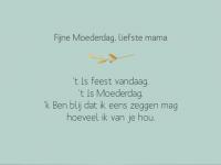 'Liefste mama…' – Inspiratie voor de mooiste Moederdag tekstjes