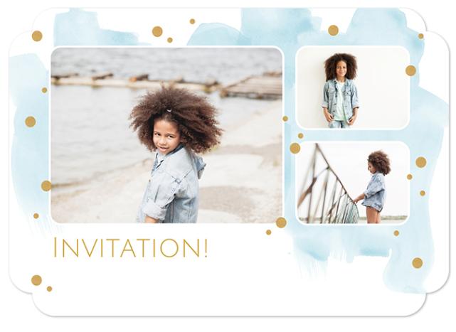 Communiekaartjes uitnodiging