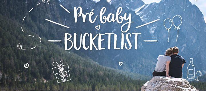 Pre baby bucketlist: deze dingen moet je absoluut doen vooraleer je zwanger wordt!