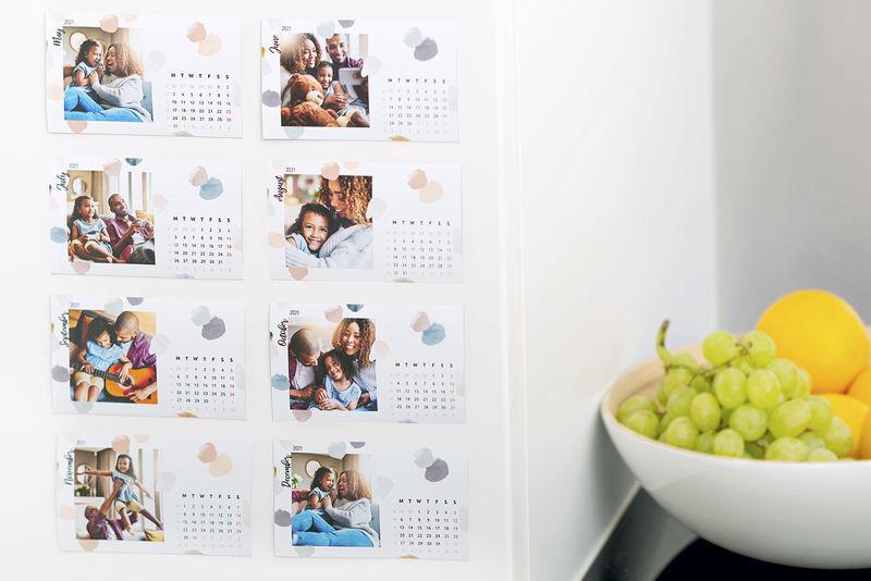Kalendermagneet voor 2021 maken